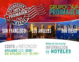 Pro Imagen realiza su primer evento de promoción en California