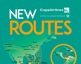 Infographic - New Routes Copa Airlines