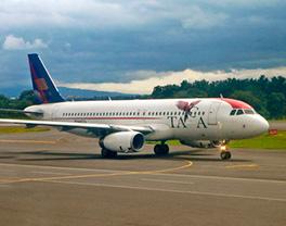 Avión TACA