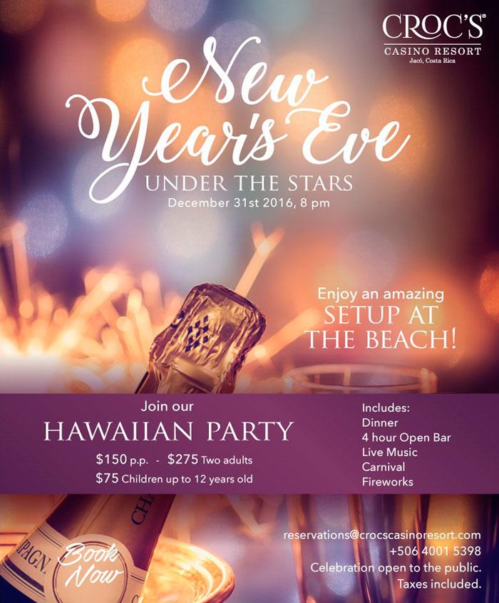 New Year Eve - Crocs Casino Resort