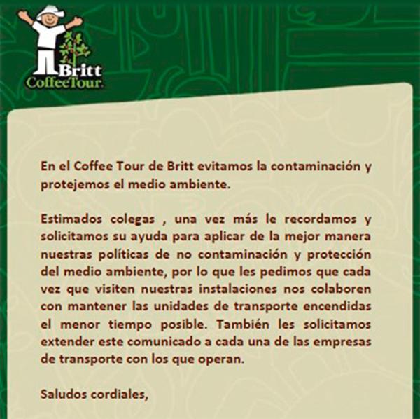 Promoción Cafe britt