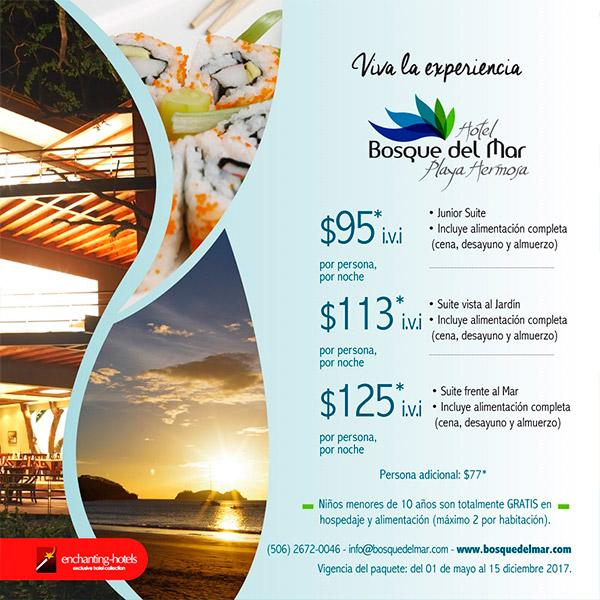 Hotel Bosque del Mar Promo